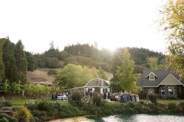 Mountain House Estate – California wine country weddings – fall weddings- San Francisco bay fall weddings - outdoor wedding ceremony
