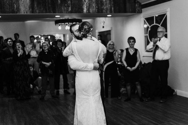 Mountain House Estate – Wine country winter wedding – Mountain House Estate wedding - first dance