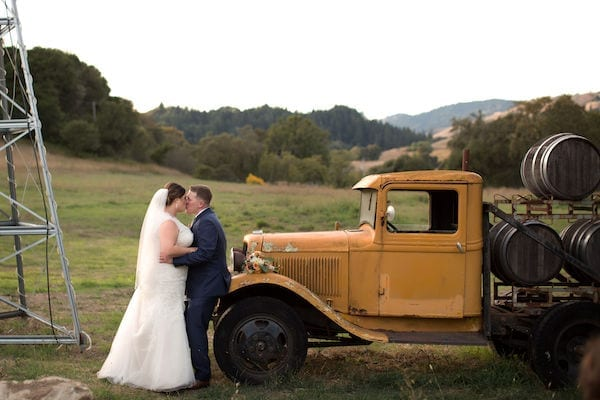 Mountain House Estate – California wine country weddings – fall weddings- San Francisco bay fall weddings - bride and groom