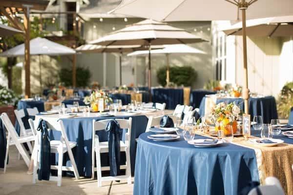 Mountain House Estate – California wine country weddings – fall weddings- San Francisco bay fall weddings - outdoor wedding reception