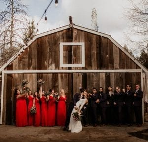 Mountain House Estate – Wine country winter wedding – Mountain House Estate wedding - rustic wedding venue - winter wedding