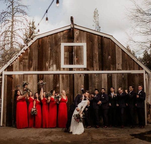 8 Mountain House Estate – Wine country winter wedding – Mountain House Estate wedding rustic wedding venue winter wedding