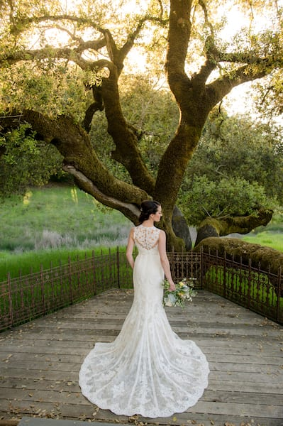 Mountain House Estate – California wine country weddings – Mendocino country wedding venue – Oak Tree Terrace -same sex wedding. - two brides - chuppah