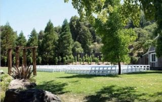 Mountain House Estate- outdoor wedding ceremonies - rustic California wine country weddings