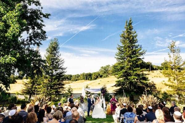 10 Mountain House Estate – Jewish Wedding – Rustic wine country wedding venue