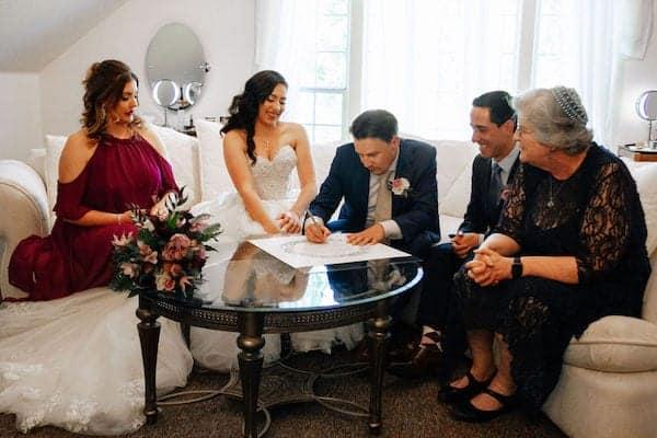5 Mountain House Estate – Jewish Wedding – Rustic wine country wedding venue