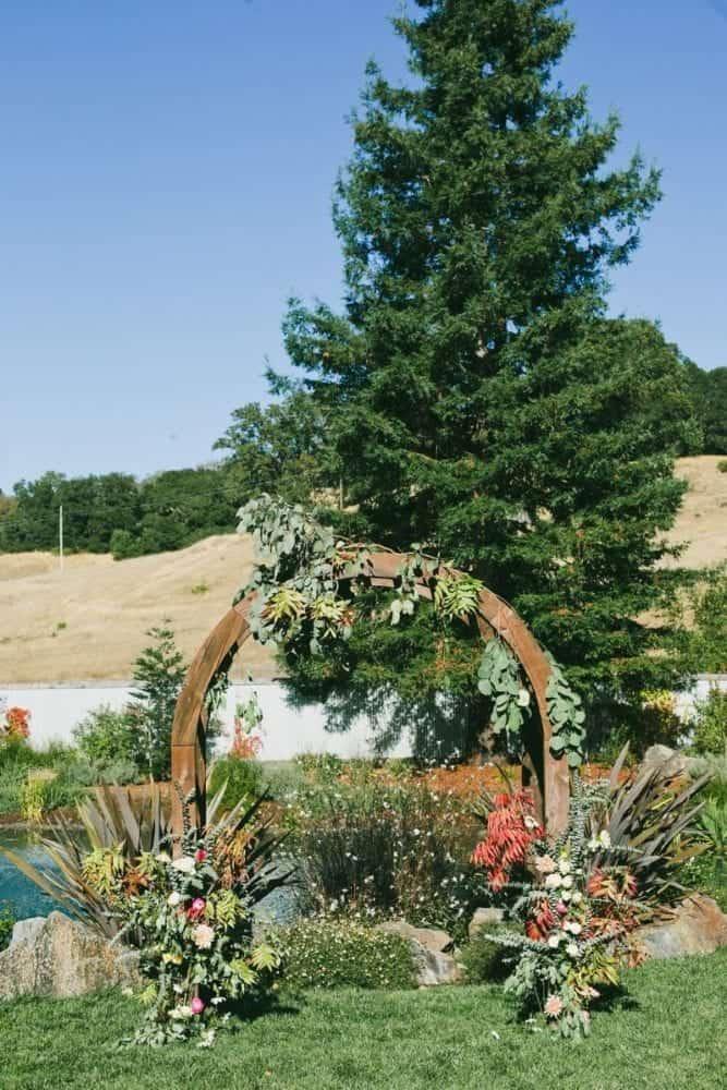Ceremony1outdoor wedding venue mountain house estate wine country napa wedding sonoma cloverdale santa rosa