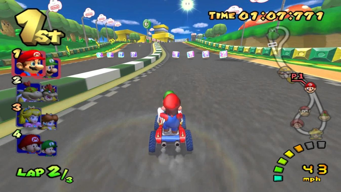 mario kart games for couples