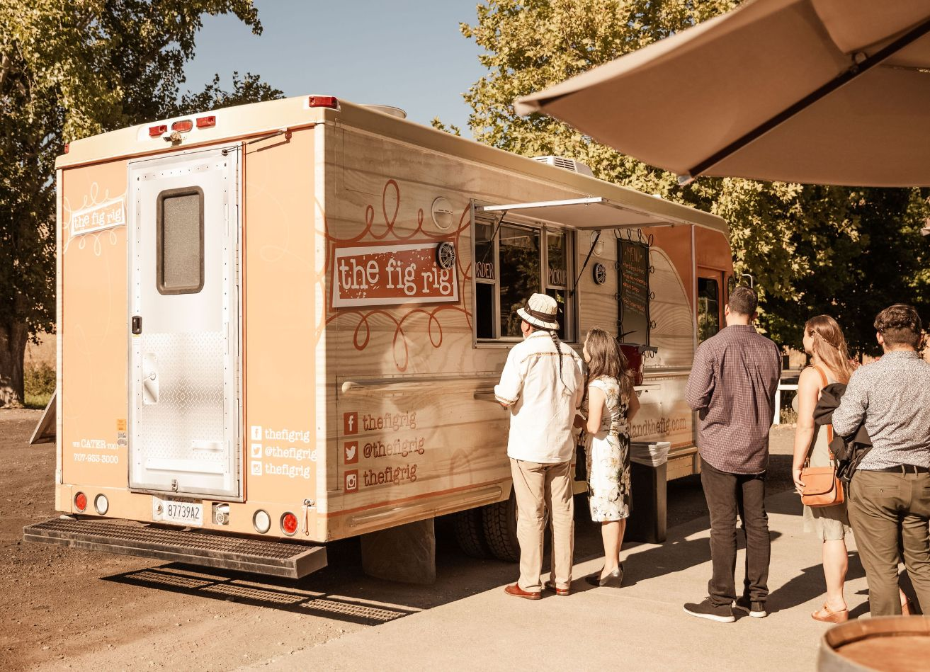 11 food trucks mountain house estate wedding venues northern california