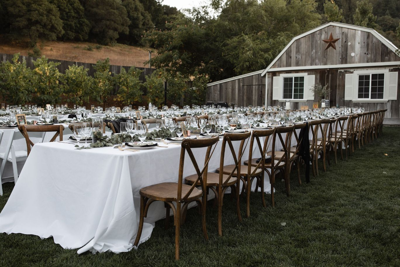 14 dining seating rustic mountain house estate weddingi venues northern california
