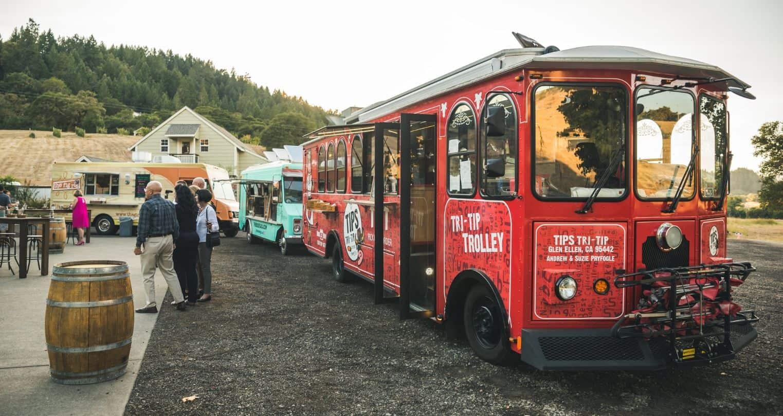 2 food trucks mountain house estate wedding venues northern california