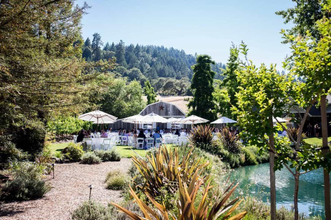 23 dining seating rustic mountain house estate weddingi venues northern california
