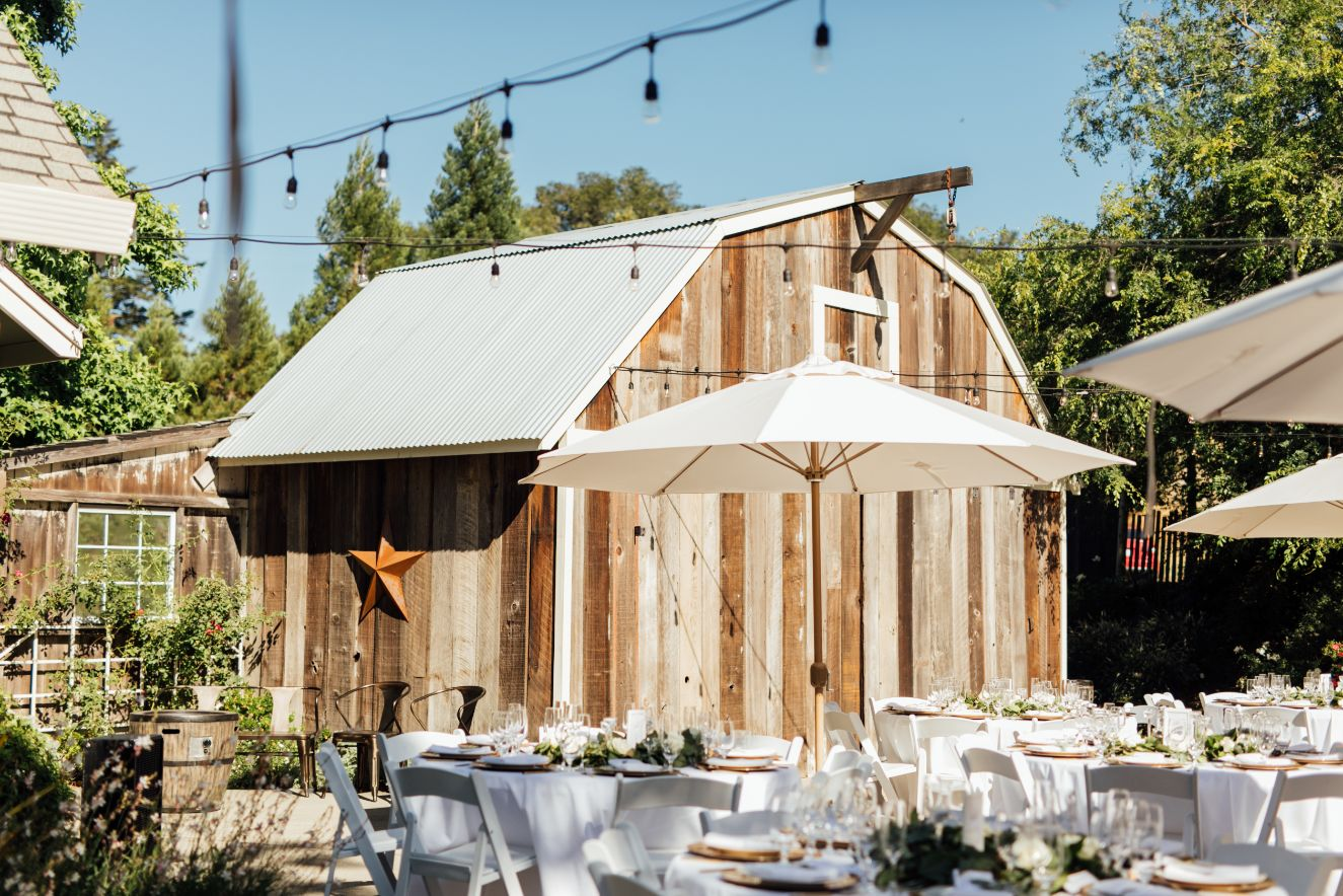 26 patio rustic mountain house estate wedding venues northern california