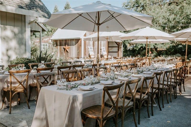 39 dining seating rustic mountain house estate weddingi venues northern california