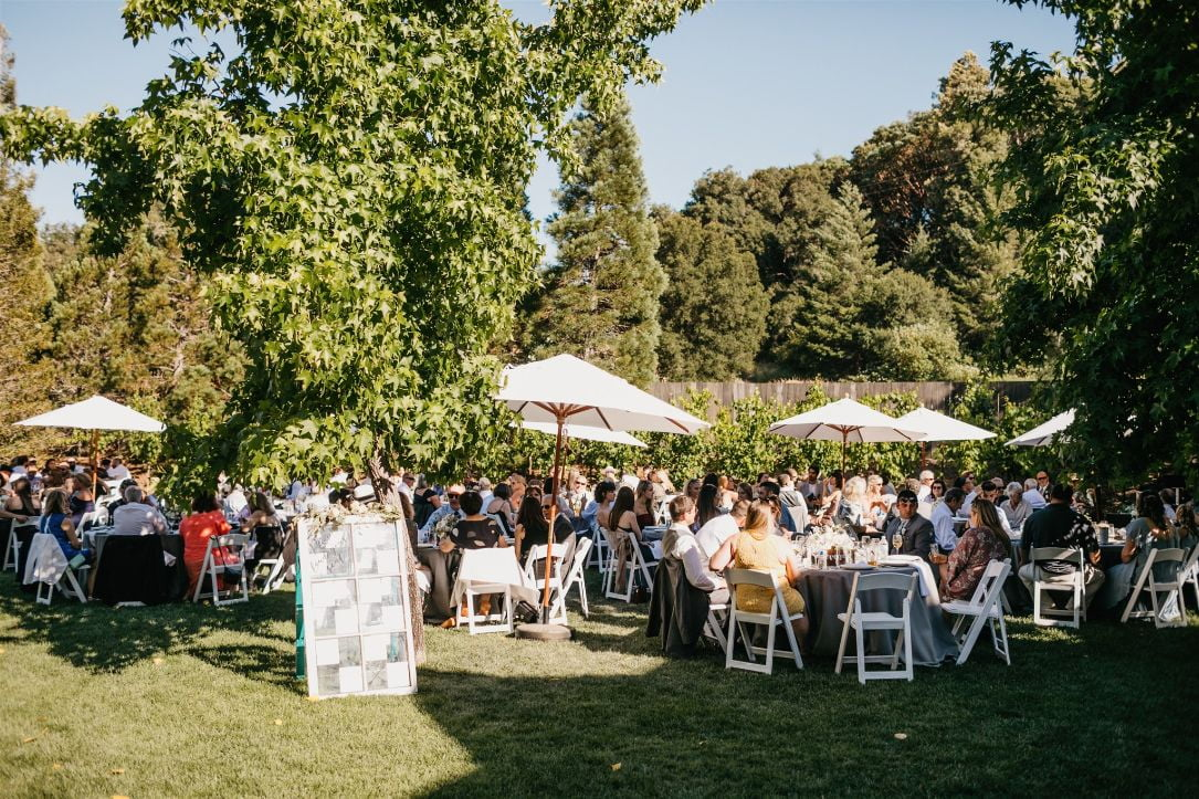 9 dining seating rustic mountain house estate weddingi venues northern california