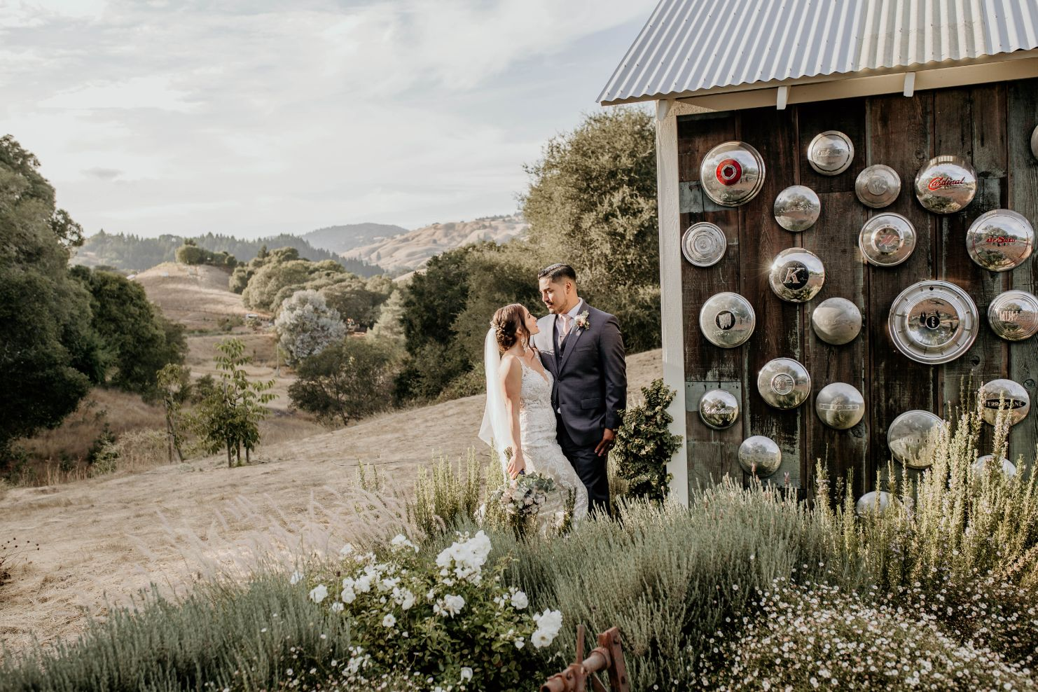 mountain house estate northern california wine country wedding venue barn rustic chic Liz Valentine Photography September18 421 1