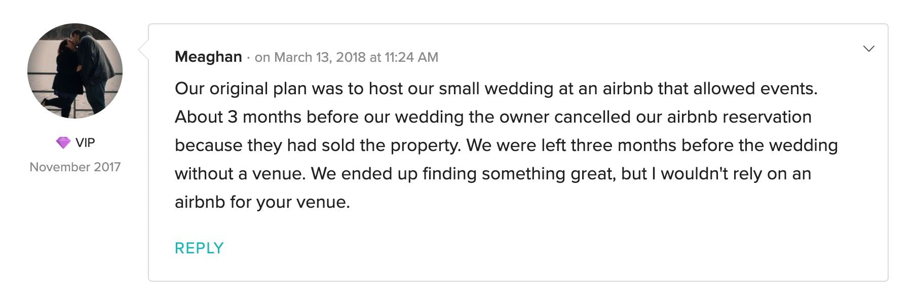 0 airbnb wedding venue california