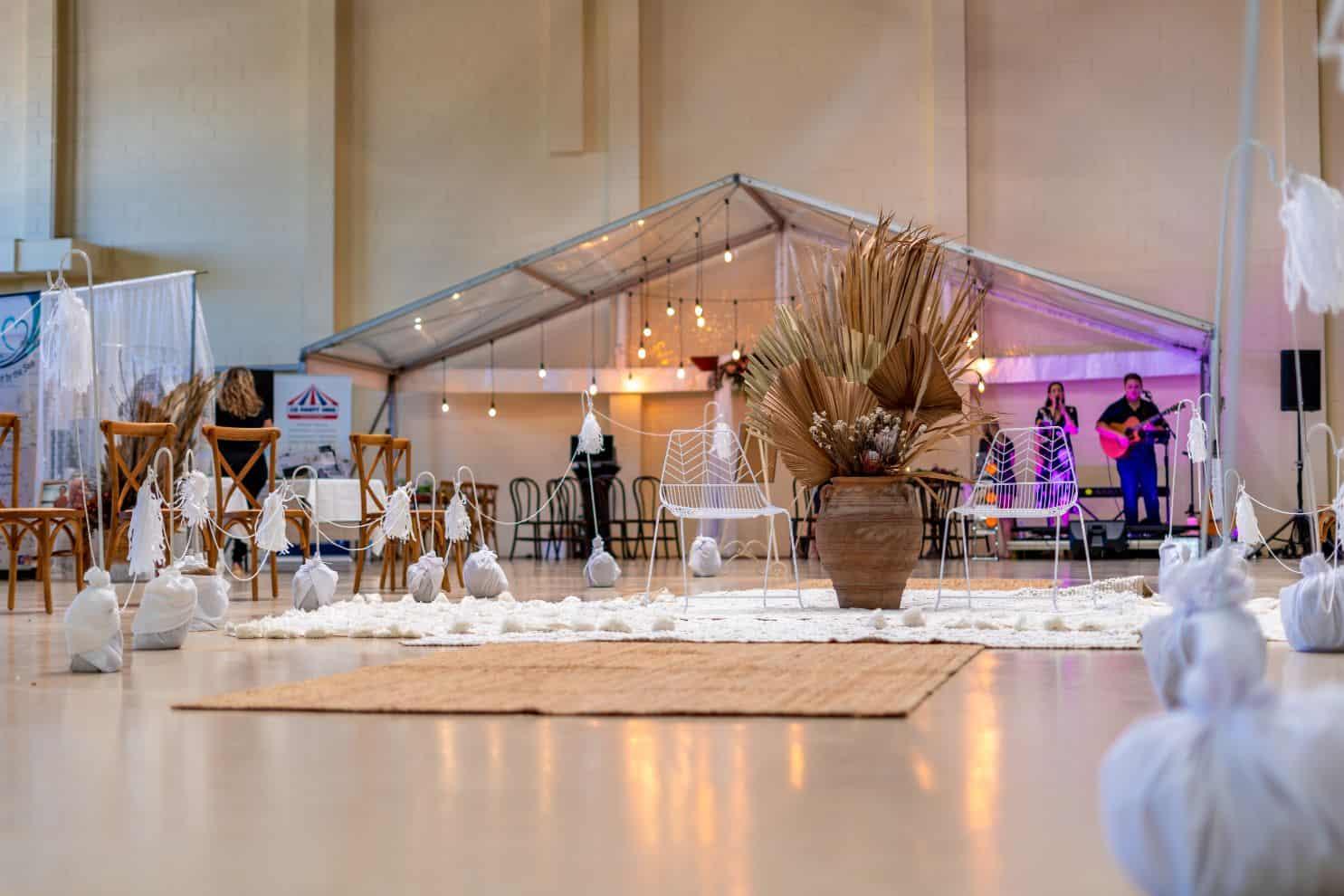 1 small wedding reception ideas mountain house estate