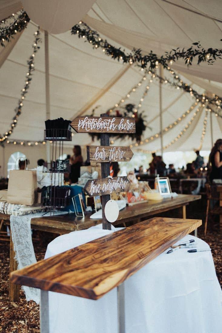 6 small wedding reception ideas mountain house estate